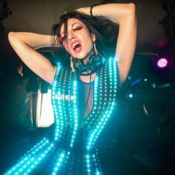 Светодиодное платье
